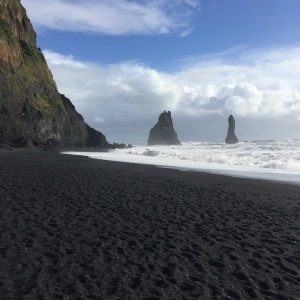 The Beach in Vik